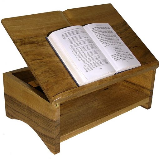 Table top adjustable height book stand