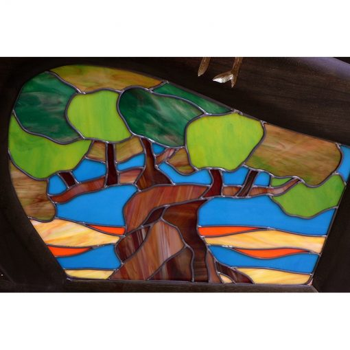 asher twelves tribes stained glass