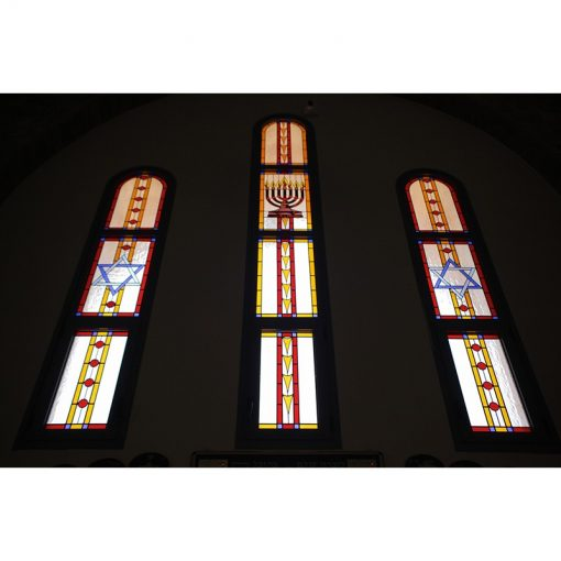 synagogue stained glass windows