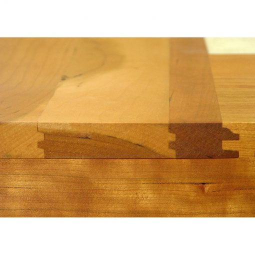 dining table joinery of cherry wood