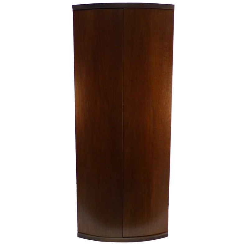 curved solid wood door aron kodesh for wall mounting or portable