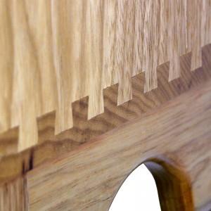 Pirke Avot portable torah ark dovetail joinery