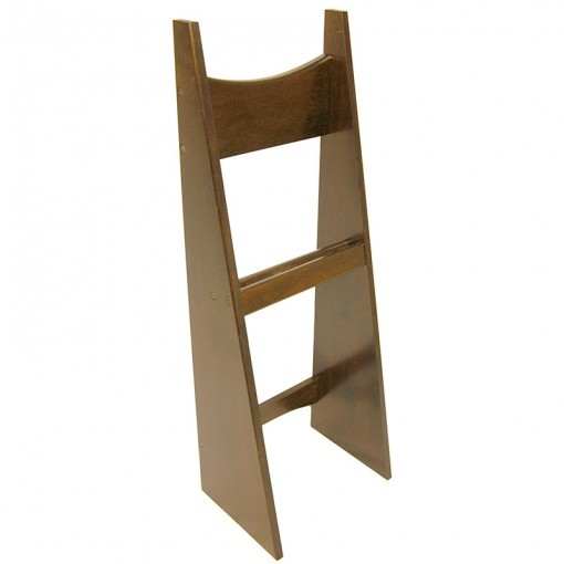 torah stand with curved back from solid wood