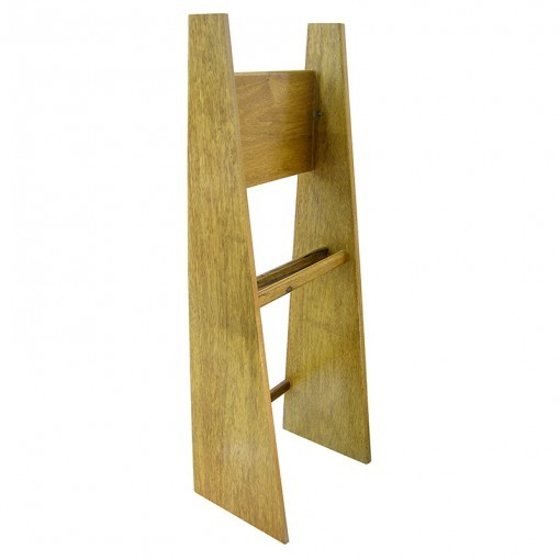 contemporary torah stand holder in light wood