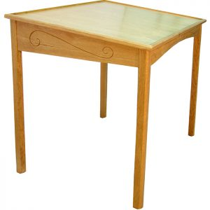 african walnut portable torah reading table