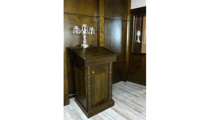 podium shtender toronto synagogue