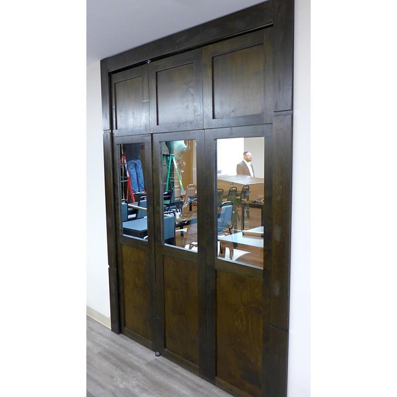 Mechitza Synagogue Toronto with One-way mirror