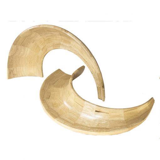 shofar made from wood