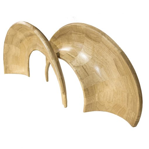 wood carved solid shapes